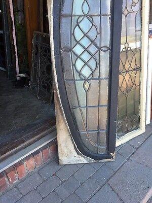 Sg 792 Antique Arch Beveled Glass Window 8