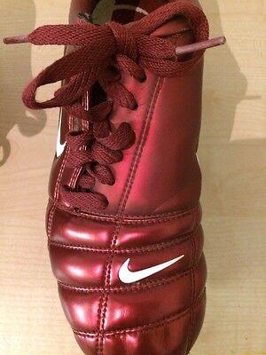 Nike Total 90111 Air Zoom Red Kids Junior Football Boots Uk 6 Eur 40 6