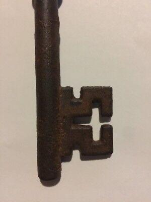 Victorian Master Cast Iron Skeleton Key Vintage Antique style Heavy Cast fr/g 3