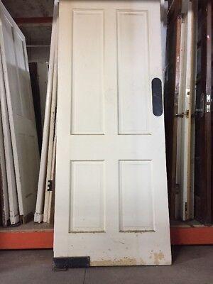 """Old Kitchen Swing Door 79 1/2 X 32"""" 4 Panels"""