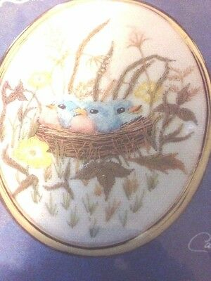 "NIP /& SEALED VINTAGE CATHY GOLDEN OVALS /""BABY/'S NEST /""# 1257 EMBROIDERY KIT"