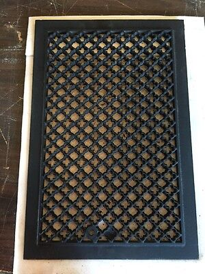 Antique Oversized Grate Top Ornate Tc 72 3
