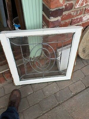 Sg 312  4 Available Priced Separately Antique Beveled Glass Windows 2