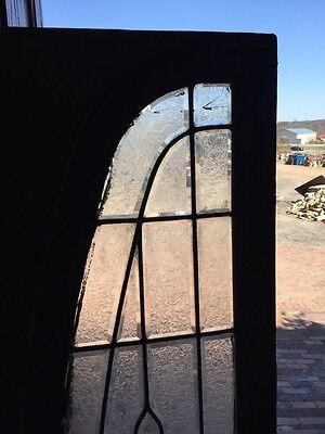 Sg 792 Antique Arch Beveled Glass Window 2