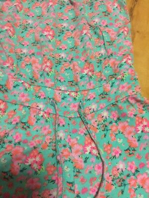 H & M Girls Playsuit And Flower Summer Dress Aged 6-8 Years Old (122-128)