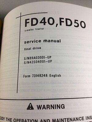 FIAT ALLIS FD50 Crawler Tractor Service Manual Set