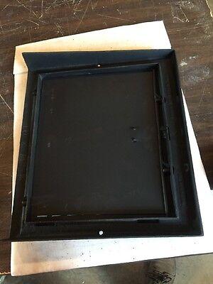 Antique Heating Grate Cast Iron Simple Squares Tc 66 4