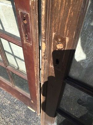 """Cm 21 For Available Price Separate Antique Pine French Door 27"""" X 84 X11 5/8"""" 7"""