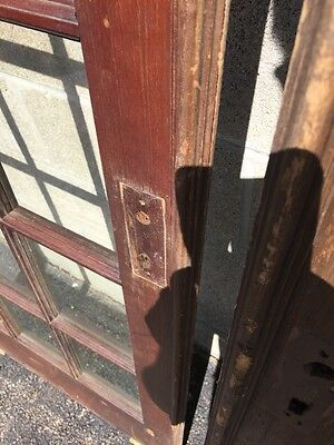 "Cm 21 For Available Price Separate Antique Pine French Door 27"" X 84 X11 5/8"" 8"