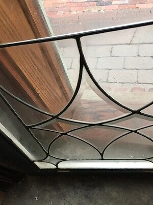 Sg 724 Antique Four Point Beveled And Leaded Window Price Each Three Available 7