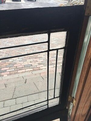 Sg 645 Two Available Price Separate Four Corner Belval Leaded Glass Windows 4