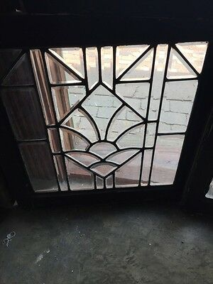 Sg 746 Three Available Price Separate Antique All Beveled Glass Window 3