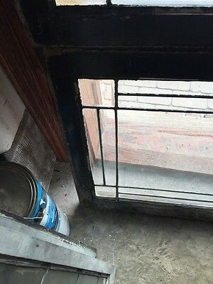Sg 645 Two Available Price Separate Four Corner Belval Leaded Glass Windows 6