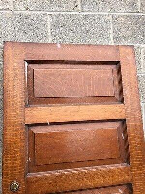 Cm 68 Antique Oak Passage Door With The Deadbolt 7