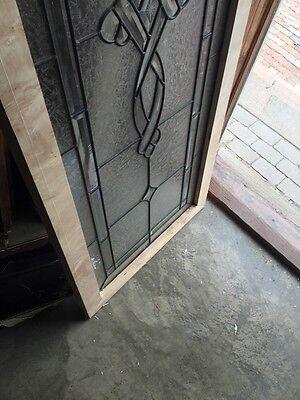 Sg 693 Antique Textured Glass Beveled Glass Window 10