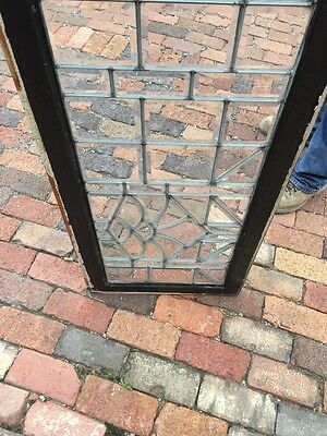 Sg 830 Antique All Beveled Glass Transom Window 7