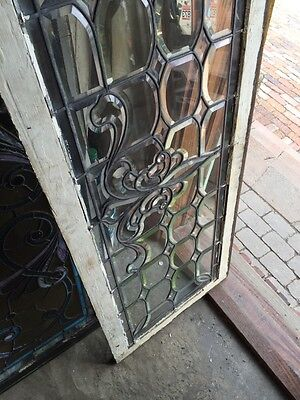 Sg 596 All Beveled Glass Transom Window 22 Inches High By 56 1/4 Long 11