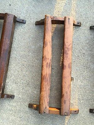 20 Available Price Separate Antique Oak Pamphlet Holders 4