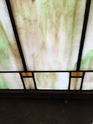 Sg 404 Arts And Crafts Antique Stainglass Window 5