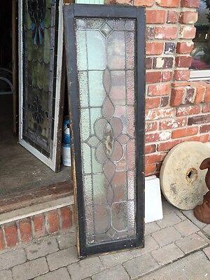 Sg 459 Antique Transom Window In Original Frame
