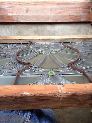 Sg 207 Absolutely Incredible 1880S Beveled Glass Window 8