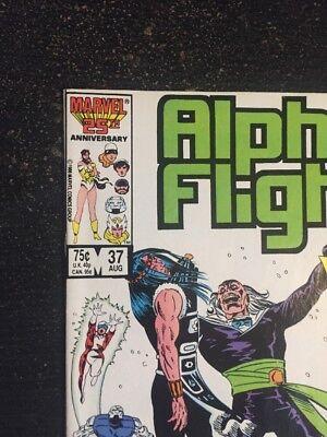 Alpha Flight#37 Incredible Condition 9.4(1986) David Ross Art!! 6