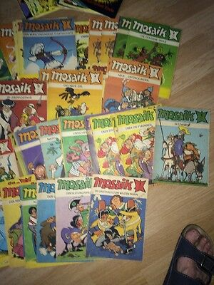 10x MOSAIK ABRAFAXE 1976-1990 FREIE AUSWAHL E1-E2  Neue Auswahl! Mosaik Digedags-Comics