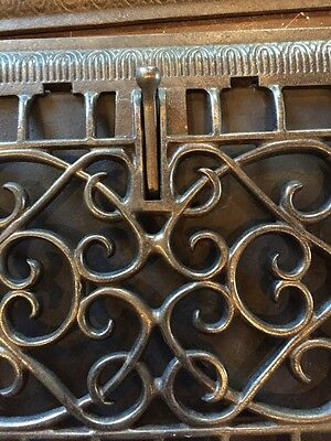 Tc 19 Seven Available Price To Separate Antique Cast-Iron Wall Grates 2