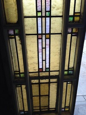 Antique Stain Glass Windows In Woodframe Youngstown's Finest Number 1 Of 4 4
