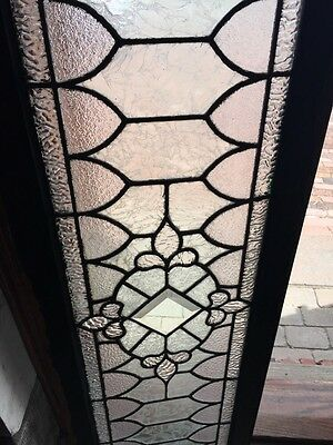 Sg 739 Antique Transom Window With Double Glass Center 3