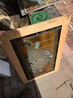 Sg 559 Antique Stainglass Victorian Window Schell Design 8