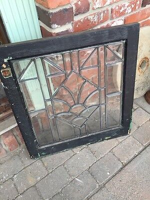 Sg 746 Three Available Price Separate Antique All Beveled Glass Window