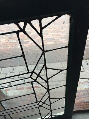 Sg 628 Antique Leaded Glass Transom Window 2