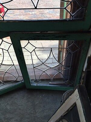 Sg 296 Three Available Praised Each Point Double Windows Antique