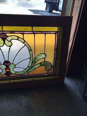 Sg 559 Antique Stainglass Victorian Window Schell Design 4