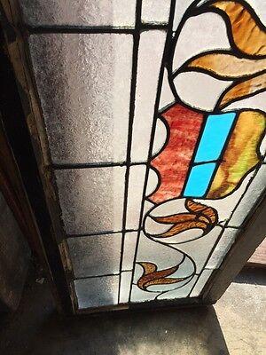 """Sg 818 Antique Transom Window 16"""" X 42"""" 3"""