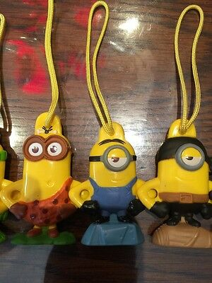 Despicable Me Mini Minion One Eye In Blue General Mills Cereal Hanging Toy