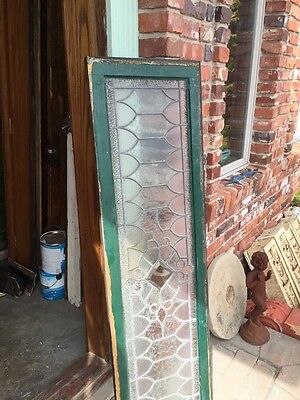 Sg 739 Antique Transom Window With Double Glass Center 6