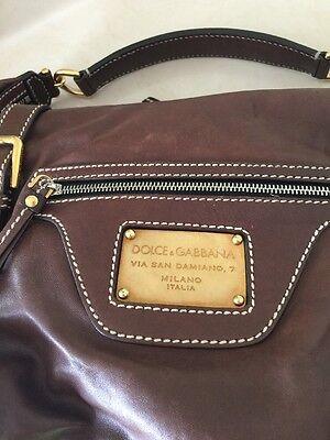 c68273c601d7 DOLCE   GABBANA - VINTAGE Hand Bag Soft Brown Leather -  149.99 ...