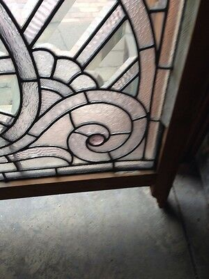 Sg 207 Absolutely Incredible 1880S Beveled Glass Window 7