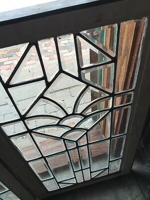 Sg 750 2 Available Priced Each Beveled Glass Windows 20.25 X 35.5 6