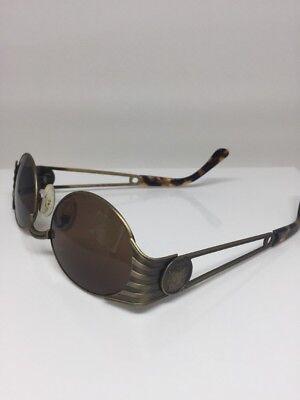 1f7cec40968 ... New Vintage Fendi Sunglasses Steampunk Mod. FS 142 Antique Bronze Made  In Italy 4