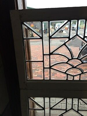 Sg 843 Two Available Price Separate Antique Beveled Glass Window 2