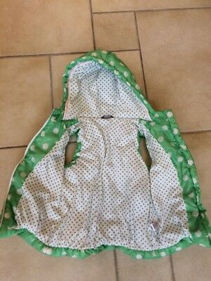 Funky GREEN spotty girls gilette 7-8 years 2