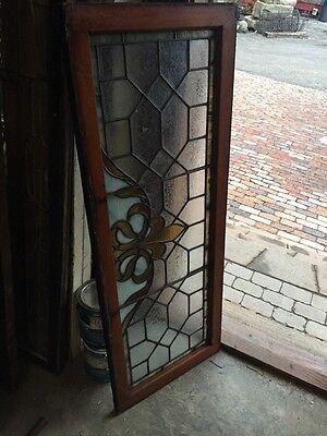 Ste 435 Antique Transom Glass Window Florida Lee 5