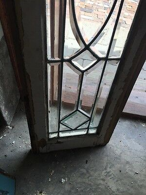 Sg 870 Antique All Beveled Glass Transom Window 4