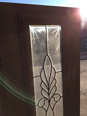 Bg 199 One Pair Antique Beveled Glass Sidelights Or Transom Windows 5