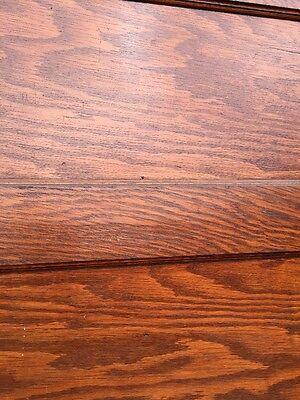 Rd 22 One Single Oak Flat Panel Pocket Door 5