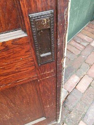 R D One Antique Oak 2 Panel Single Pocket Door 8