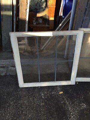 D Cm Six Matching Antique Sash Windows In Zinc 30 Wide By 29 Hi 3